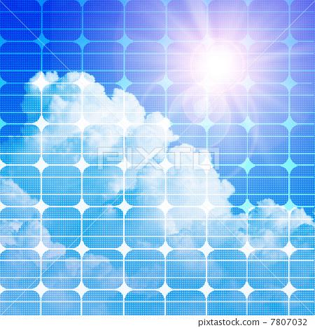 插图素材: 太阳能板 电器 家电
