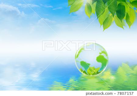 插图素材: 生态学 生态 绿色
