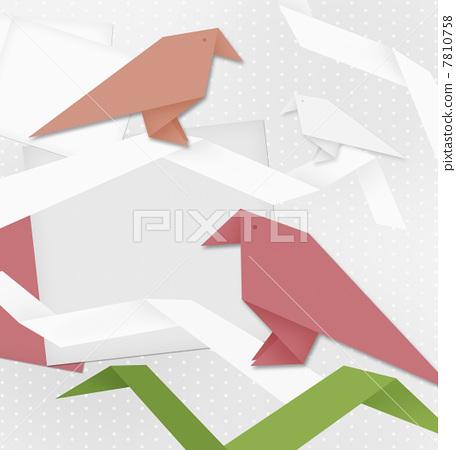折纸成鹤,飞翔;凝眸回首,彷徨;那一抹眷念的深望,那.
