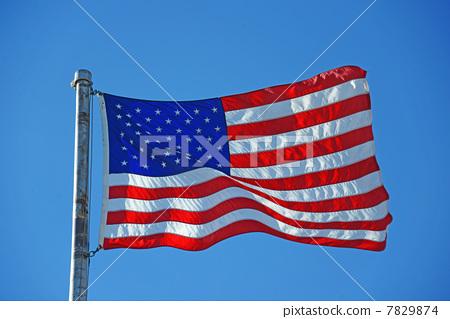 星条旗(美国国旗) 星条旗永不落(美国国歌) 美利坚合众国