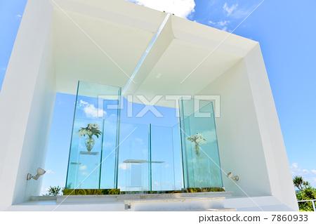 照片素材(图片): 小教堂 礼堂 婚礼大厅