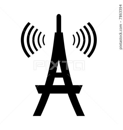天线杆 无线电塔 接待