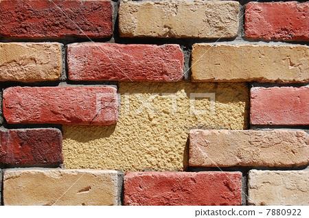 照片素材(图片): 砖头 墙壁 墙
