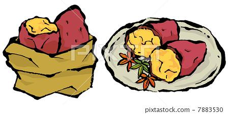 地瓜组成结构图