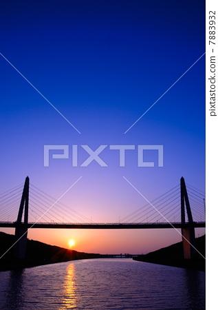 照片素材(图片): 斜拉桥 桥 桥梁