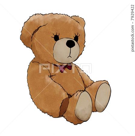 图库插图: 泰迪熊 加薪 可爱