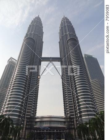 双塔 双子塔 马来西亚