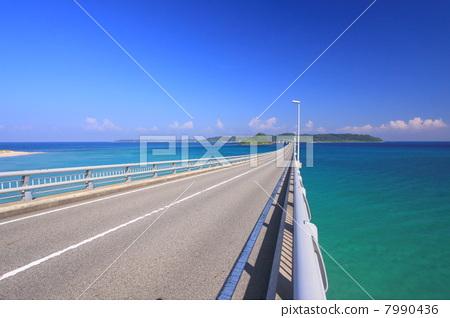 海洋 大海 角岛大桥