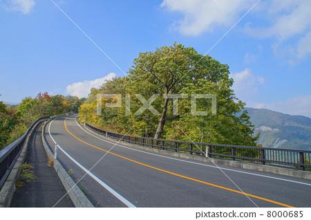 藻生态线 道路 宫城县-图片素材 [8000685] - pixta