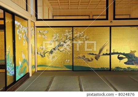 名古屋城堡 本丸御殿 房间分隔墙上的图片