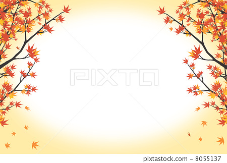 秋叶图片大全简笔画
