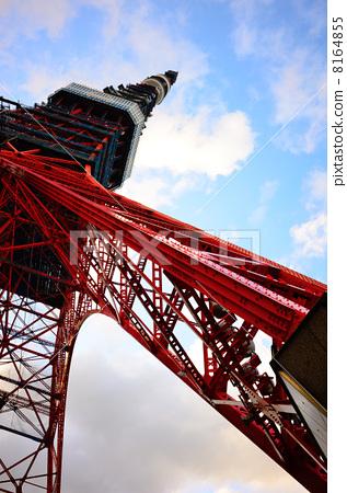 天线杆 蓝天 无线电塔