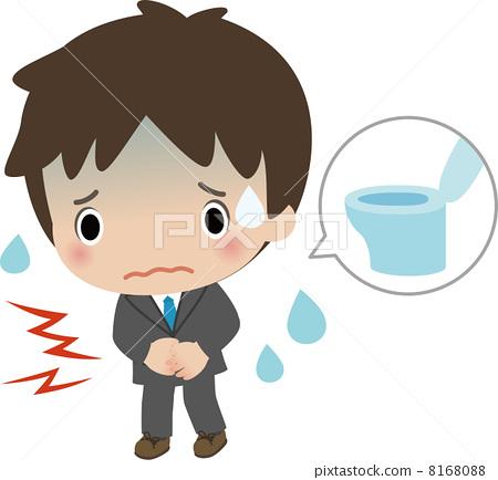 图库插图: 胃痛 腹痛 腹泻