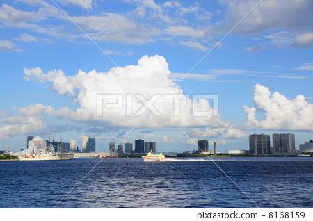 9月都市の风景街并み239东京湾 8168159