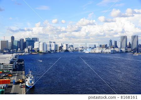 9月都市の风景街并み237东京湾 8168161