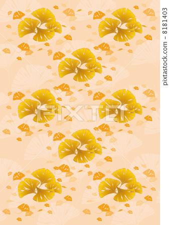 插图素材: 银杏 矢量 银杏树