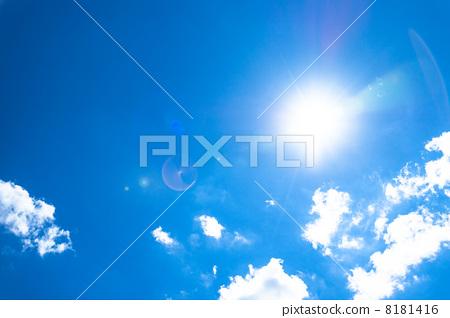 空系_图库照片: 蓝天 蓝蓝的天空 太阳系