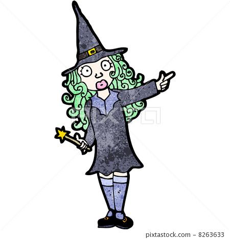 女巫 卡通