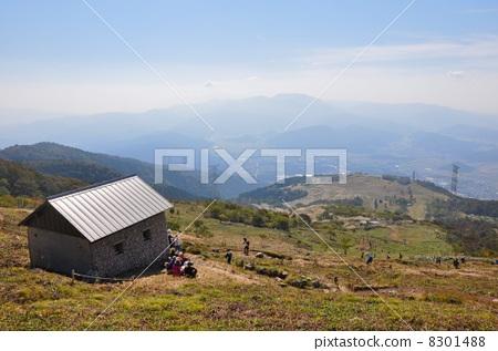 图库照片: 山野中的小木屋 小屋 船舱