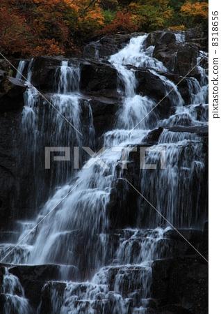 瀑布 自然美 秋天-图片素材 [8318656] - pixta