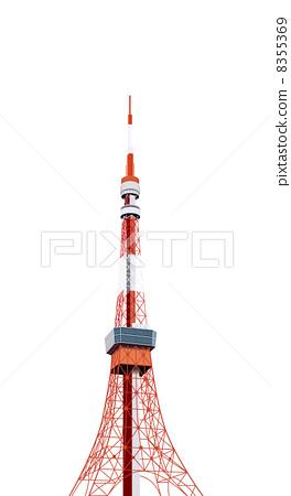 东京铁塔 东京塔 路标