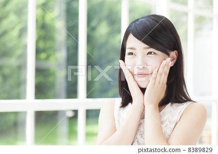 女人 女性 20多岁-图库照片