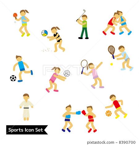 插图素材: 图标 icon 运动