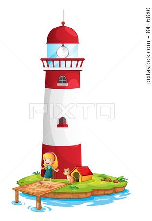 白色灯塔 说明