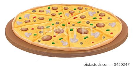 做披萨分解步骤