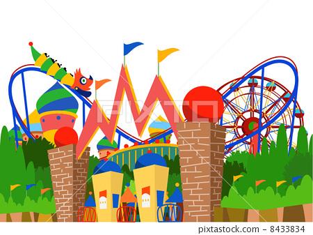 插图: 矢量图 矢量 主题公园