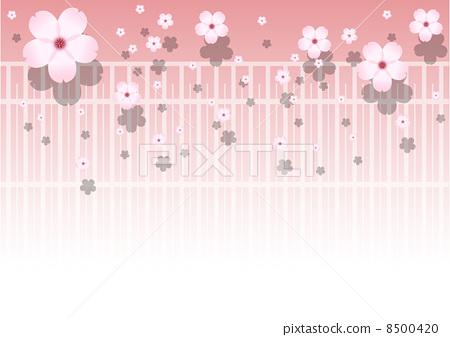矢量图 矢量 樱桃树