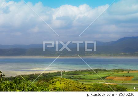 图库照片: 小滨岛 西表岛 安静的