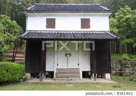 日式房屋 人 stock photos
