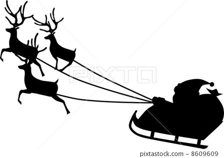 鹿车,它是根据为圣诞老人拉雪橇的驯鹿中领头的