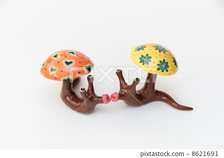 用粘土做东西 蜗牛 粘土工作