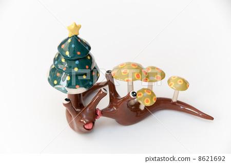 亲吻 蜗牛 用粘土做东西