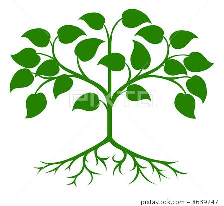 背景 壁纸 绿色 绿叶 设计 矢量 矢量图 树叶 素材 植物 桌面 450_413