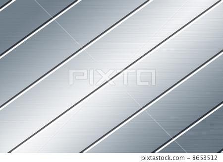 条纹金属板素材