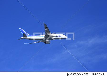 飞机 喷气式飞机 云彩