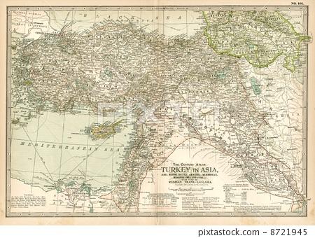火鸡 古董地图 土耳其