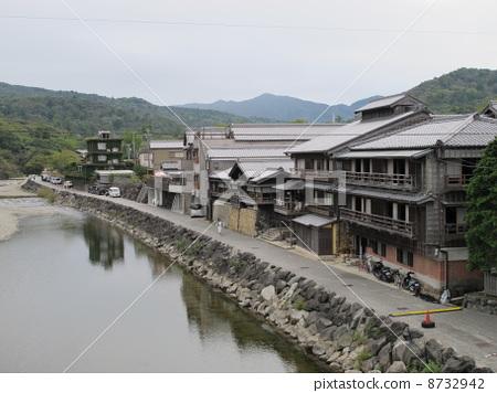 木质建筑 五十铃川 总体结构-图片素材
