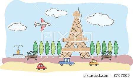 埃菲尔铁塔 艾菲尔铁塔