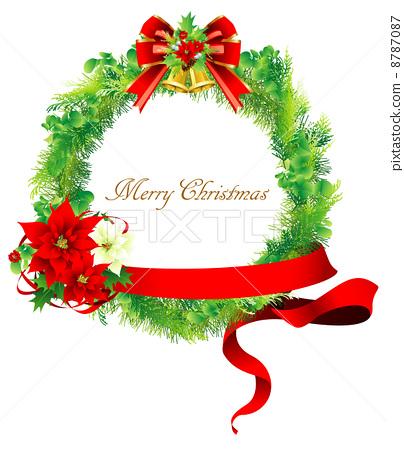 圣诞节 尤尔 圣诞花环