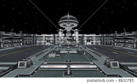 空间站 层 空间