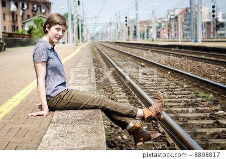 可爱 火车站 城市生活
