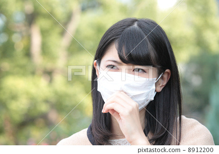 图库照片: 寒冷 感冒 咳嗽
