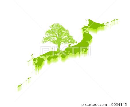 背景 壁纸 绿色 绿叶 设计 矢量 矢量图 树叶 素材 植物 桌面 450_371