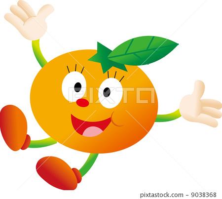 图库插图: 蜜柑 橘子 桔子