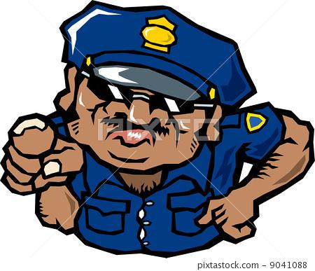 外国人警察官 9041088