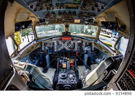 驾驶舱 飞机 客用飞机